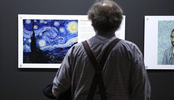 Van Gogh Alive Exibition, at Megaron Mousikis, in Athens, on November 6 2017 /  Van Gogh Alive,   ,  ,  6  2017