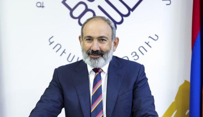 Ο πρωθυπουργός της Αρμενίας, Νικόλ Πασινιάν