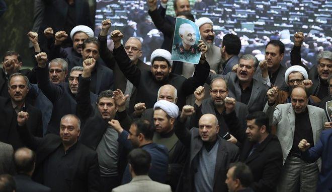 Στιγμιότυπο από το κοινοβούλιο του Ιράν
