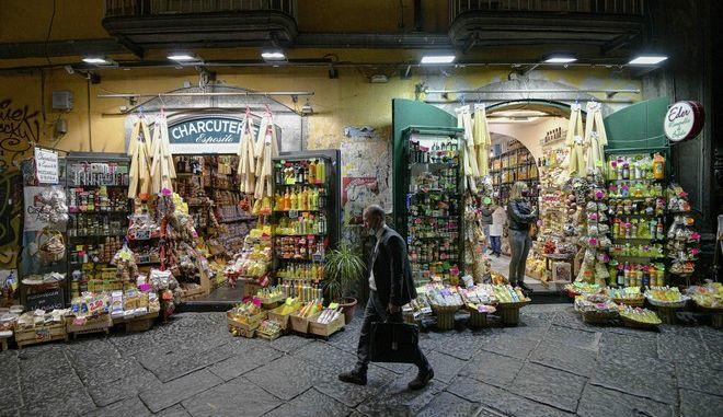 Άνθρωπος στην Ιταλία