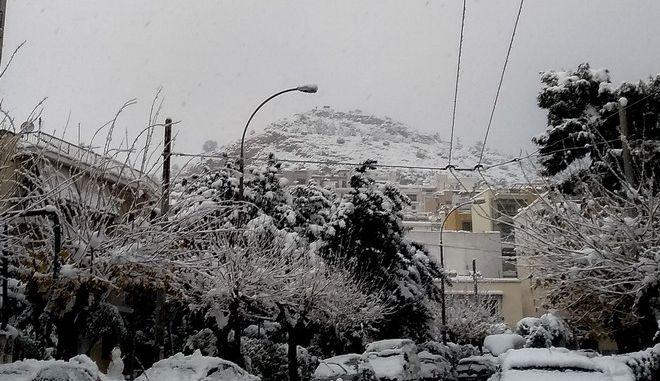 """Η επέλαση της κακοκαιρίας """"Μήδεια"""" στην Αθήνα"""