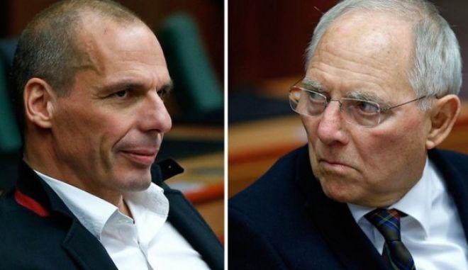 Reuters: Συνάντηση Βαρουφάκη - Σόιμπλε τη Δευτέρα στο Βερολίνο
