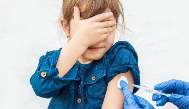 Εμβολιασμός ανήλικου κοριτσιού
