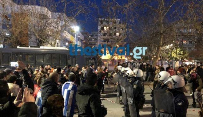 Ένταση στη Θεσσαλονίκη ενόψει της άφιξης Παυλόπουλου