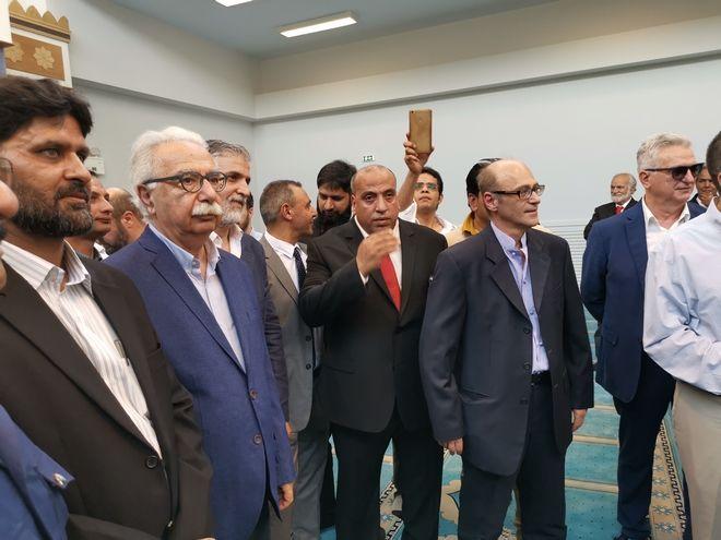 Το νέο ισλαμικό τέμενος