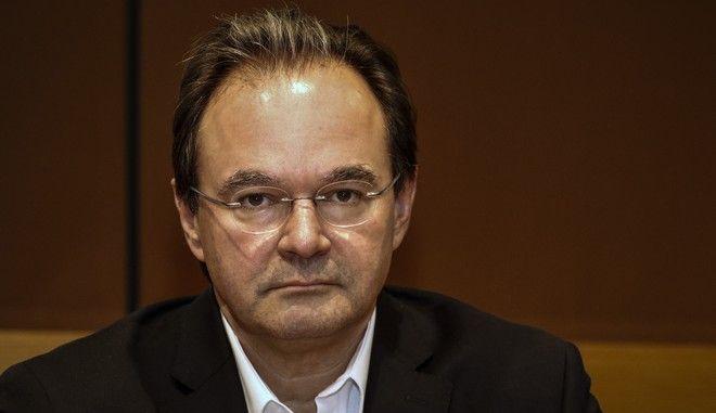 O πρώην υπουργός Οικονομικών Γιώργος Παπακωνσταντίνου