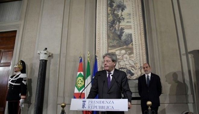 Ιταλία: 'Πράσινο φως' για την κυβέρνηση Τζεντιλόνι
