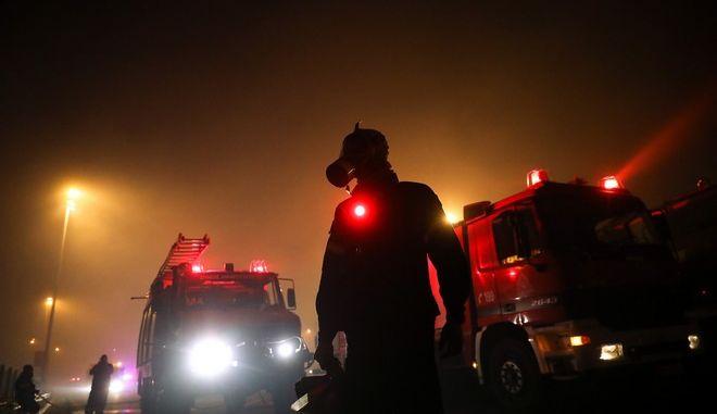 Φωτιές στην Αττική: Στην εντατική δύο εθελοντές πυροσβέστες