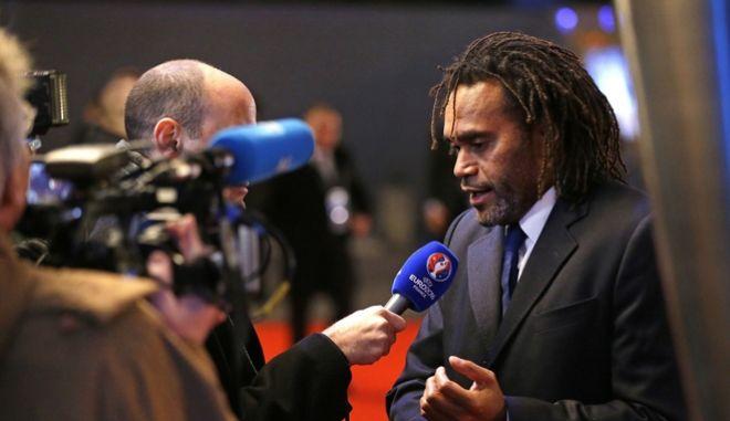 Ο πρώην Γάλλος διεθνής με την ομάδα ποδοσφαίρου της Γαλλίας, Κριστιάν Καρεμπέ
