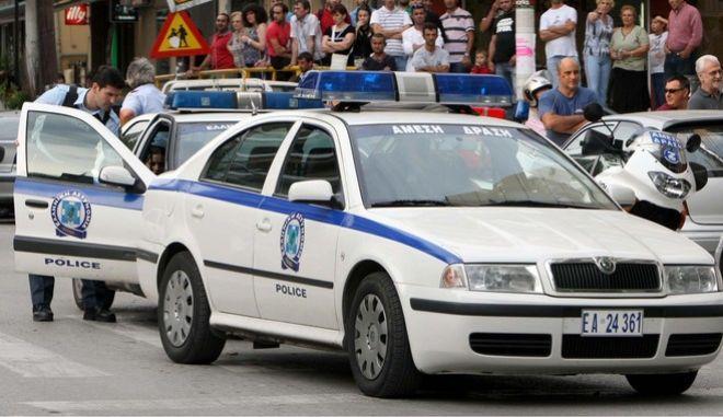 Περιπολικό στη Θεσσαλονίκη