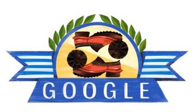 Στην επανάσταση του 1821 είναι αφιερωμένο το σημερινό Doodle της Google.