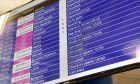 Πίνακας αναχωρήσεων στο αεροδρόμιο της Στοκχόλμης