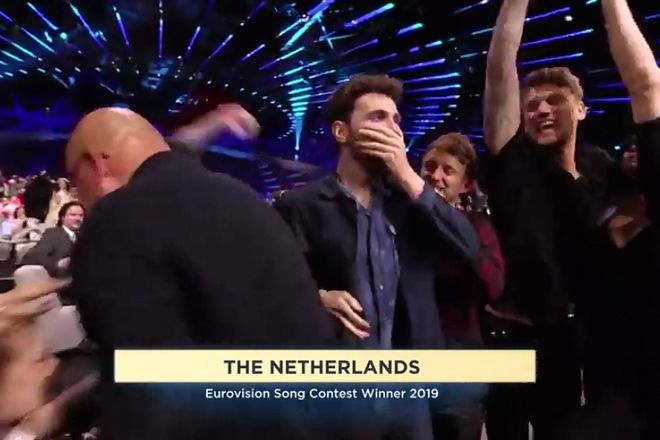 Eurovision 2019: Ο Ντάνκαν Λόρενς και το Arcade φέρνουν στην Ολλανδία τη νίκη για πέμπτη φορά