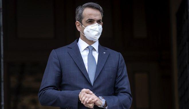Ο Έλληνας πρωθυπουργός, Κυριάκος Μητσοτάκης