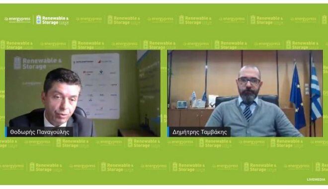 Παρουσίαση του Project Manager ΑΠΕ Δ. Ταμβάκη με θέμα «Μετασχηματισμός ΔΕΠΑ και ανάπτυξη στην Πράσινη Ενέργεια» στο συνέδριο του energypress