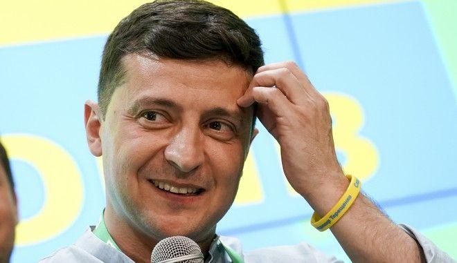 O Βολοντίμιρ Ζελένσκι