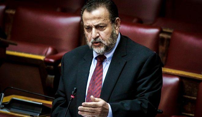 Ο γραμματέας της Κοινοβουλευτικής Ομάδας της Δημοκρατικής Συμπαράταξης Βασίλης Κεγκέρογλου