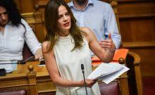 Η υπουργός Εργασίας, Έφη Αχτσιόγλου