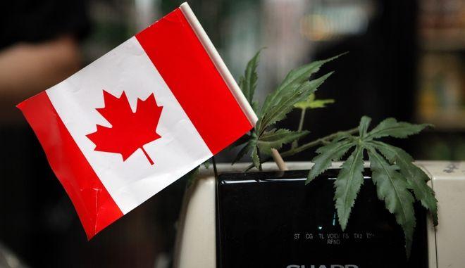 Νόμιμη η κάνναβη στον Καναδά