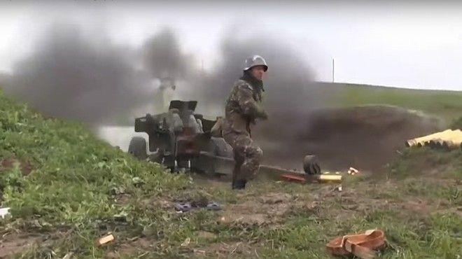 Συγκρούσεις στο Ναγκόρνο Καραμπάχ