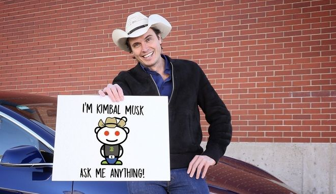 O Kimbal Musk, ιδρυτής της Square Roots