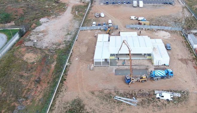 Το υπό κατασκευή σπίτι του Big Brother