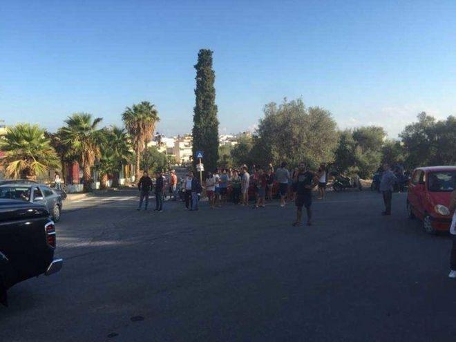Ηράκλειο: Μεγάλη φωτιά σε κτίριο του Πανεπιστήμιου Κρήτης