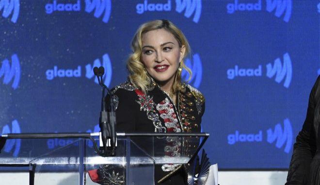 Η Μαντόνα σε εκδήλωση στη Νέα Υόρκη