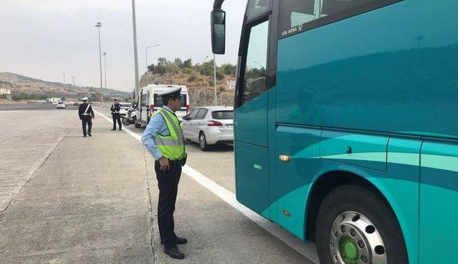 Ειδική εξόρμηση της τροχαίας στην εθνική οδό