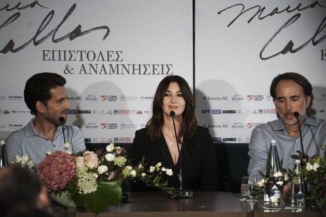 Ο Τομ Βολφ, η Μόνικα Μπελούτσι και ο Γιώργος Λυκιαρδόπουλος