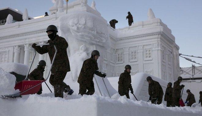 Το Φεστιβάλ Χιονιού στο Χοκκάιντο
