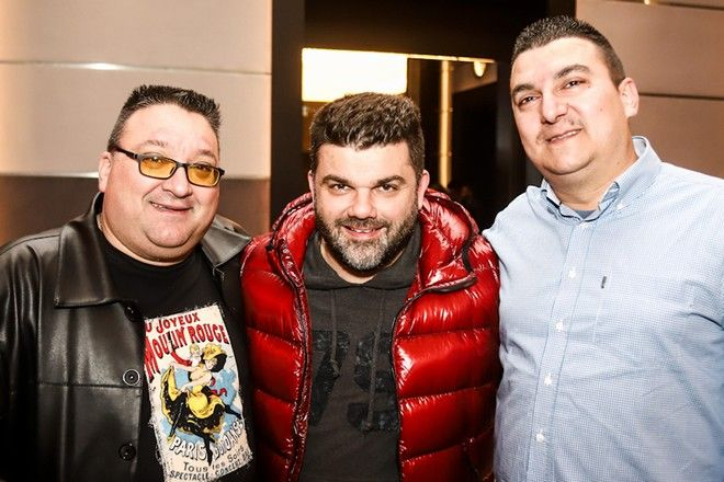 Από αριστερά: Δημήτρης Μαχαίρας, Διονύσης Βερβελές και Κώστας Γουλής