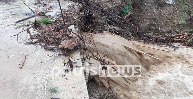 Κακοκαιρία: Προβλήματα σε πολλές περιοχές από τις έντονες βροχές