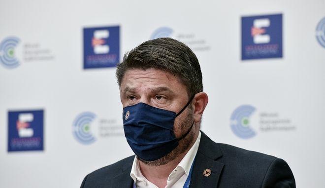 O υφυπουργός Πολιτικής Προστασίας και Διαχείρισης Κρίσεων, Νίκος Χαρδαλιάς