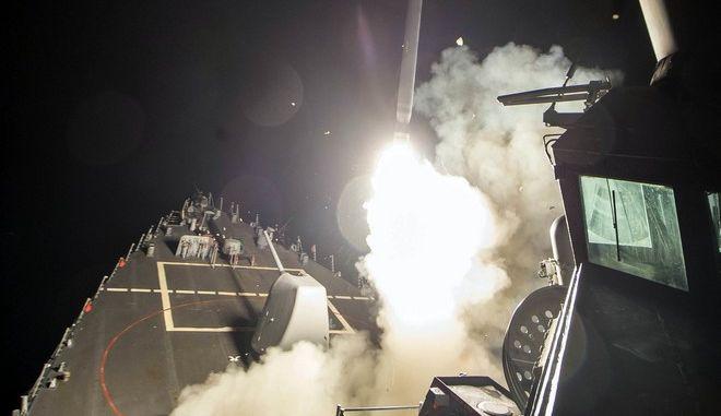 Συμφωνείτε με την επίθεση Τραμπ στη Συρία;