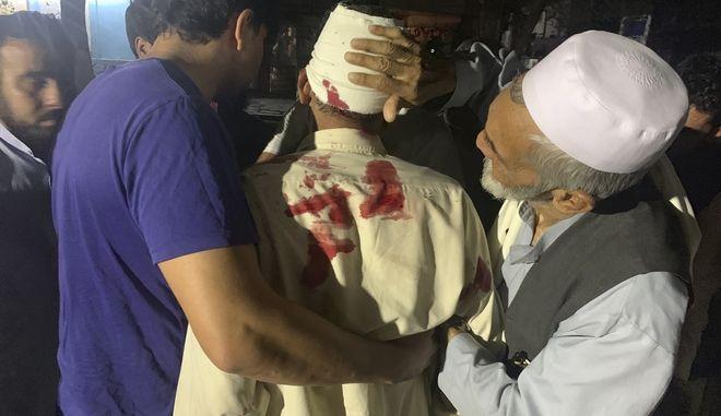 Καμπούλ, Ισχυρή έκρηξη