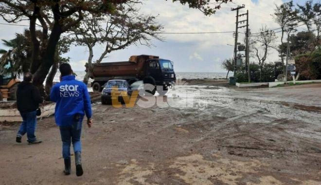 Κακοκαιρία Μπάλλος: Προληπτική εκκένωση σε χωριά της Βόρειας Εύβοιας