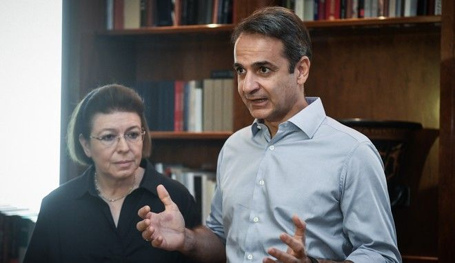 Επίσκεψη του Πρωθυπουργού Κυριάκου Μητσοτάκη στο Υπουργείο Πολιτισμού και Αθλητισμού,Παρασκευή 2 Αυγούστου 2019.