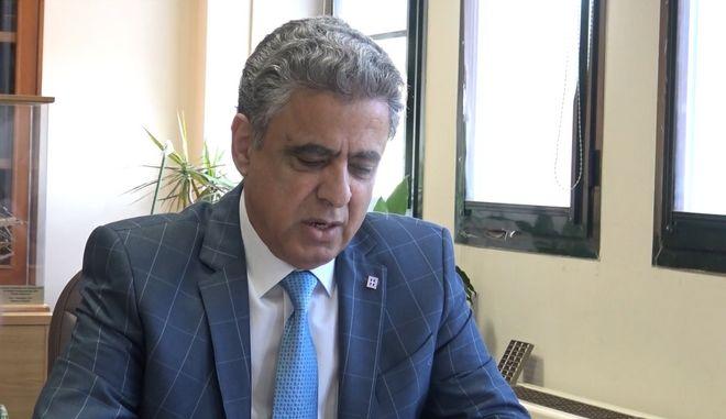 Ο δήμαρχος Χίου, Σταμάτης Κάρμαντζης