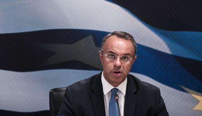 Ο υπουργός Οικονομικών, Χρήστος Σταϊκούρας.