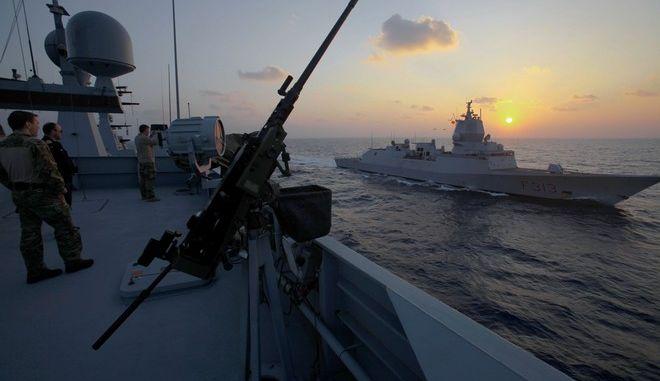 Πολεμικά πλοία στην Κύπρο - Φωτό αρχείου