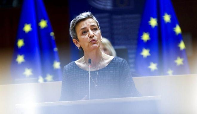 Η Επίτροπος Ανταγωνισμού της ΕΕ, Μαργκρέτε Βεστάγκερ