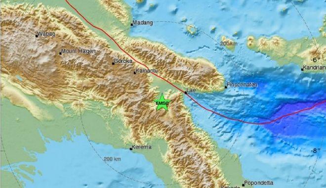 Σεισμός 7,2 Ρίχτερ στον Δακτύλιο της Φωτιάς του Ειρηνικού