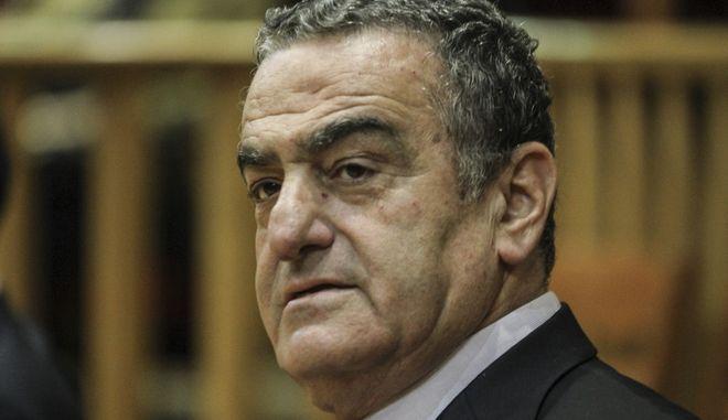 O πρώην υπουργός Δικαιοσύνης Χαράλαμπος Αθανασίου