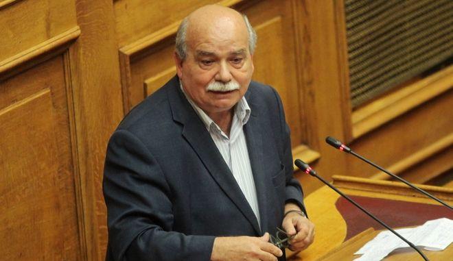 Ο Πρόεδρος της Βουλής, Νίκος Βούτσης