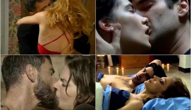 Ελληνική τηλεόραση: Οι ερωτικές σκηνές που έμειναν αξέχαστες