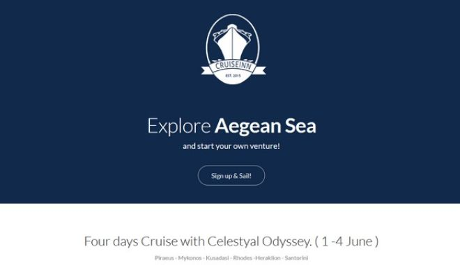 Get CruiseINN: Το κρουαζιερόπλοιο της νεανικής επιχειρηματικής καινοτομίας σαλπάρει