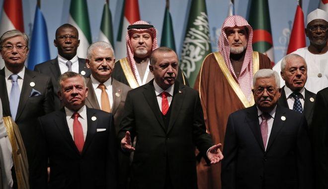 Ερντογάν: Να αναγνωριστεί η Ανατολική Ιερουσαλήμ ως 'πρωτεύουσα της Παλαιστίνης'
