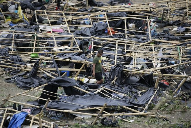 Υπερτυφώνας Μανγκούτ: 25 νεκροί, εκκενώνονται καζίνο