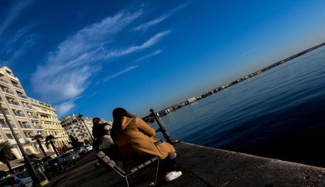 Ηλιοφάνεια στη Θεσσαλονίκη